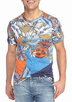 Red Camel Short Sleeve Trouble in Paradise Printed Shirt