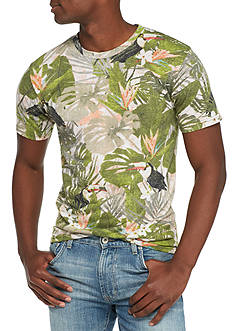 Red Camel® Short Sleeve Toucan Jungle Graphic Tee