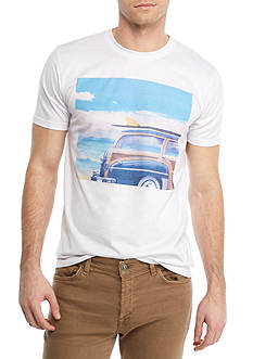 Red Camel Short Sleeve Cruisin Photo Graphic Tee