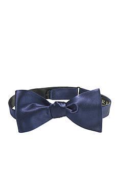 Lauren Ralph Lauren Neckwear Pre - Tied Solid Silk Butterfly Bow Tie