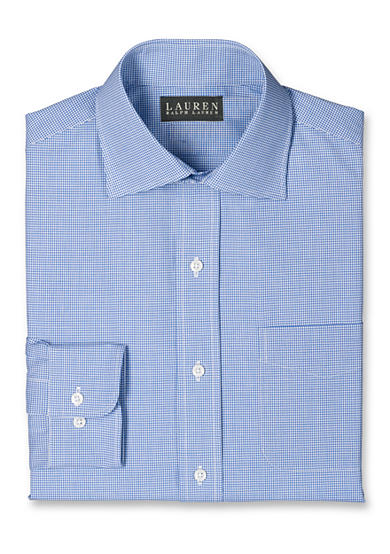 Lauren Ralph Lauren Dress Shirt Classic Fit Non-Iron Shirt