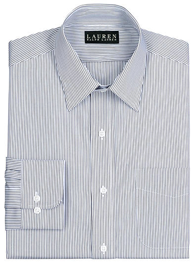Lauren Ralph Lauren Bennett Slim-Fit Striped Dress Shirt