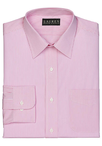 Lauren Ralph Lauren Slim Fit Stripe Dress Shirt
