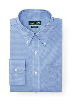 Lauren Ralph Lauren Dress Shirt Classic-Fit Checked Warren Dress Shirt