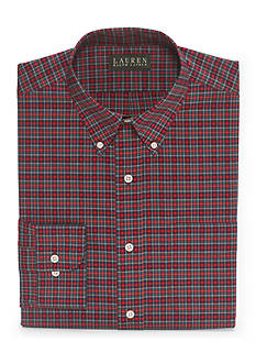 Lauren Ralph Lauren Dress Shirt Men's Relaxed-Fit Tartan Dress Shirt