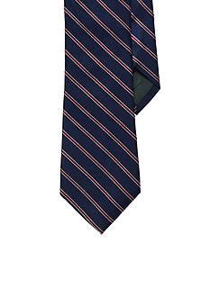Lauren Ralph Lauren Neckwear Striped Silk Twill Tie
