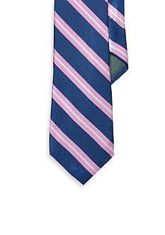 Lauren Ralph Lauren Neckwear Regency Striped Repp Tie