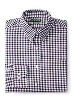 Lauren by Ralph Lauren Classic-Fit Checked Dress Shirt
