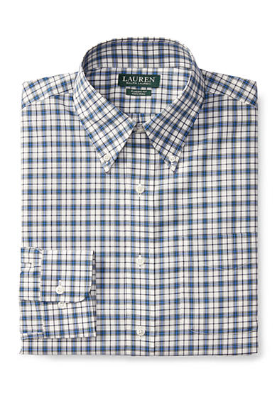 Lauren Ralph Lauren Classic-Fit Plaid Dress Shirt