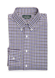 Lauren Ralph Lauren Classic-Fit Checked Dress Shirt