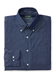 Lauren Ralph Lauren Classic-Fit Denim Dress Shirt
