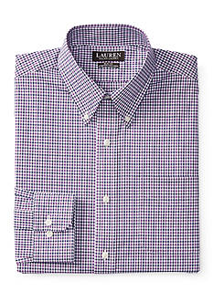 Lauren Ralph Lauren® Slim-Fit Gingham Stretch Dress Shirt