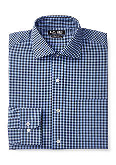 Lauren Ralph Lauren Slim-Fit Checked Stretch Estate Dress Shirt