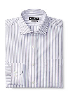 Lauren Ralph Lauren Slim-Fit Striped Stretch Estate Dress Shirt