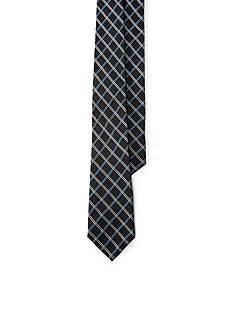 Lauren Ralph Lauren Windowpane Silk-Blend Tie