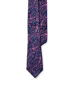 Lauren Ralph Lauren Jacquard Paisley Tie