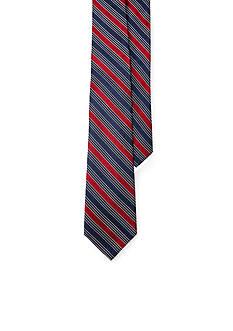 Lauren Ralph Lauren Twill and Stain Stripe Tie