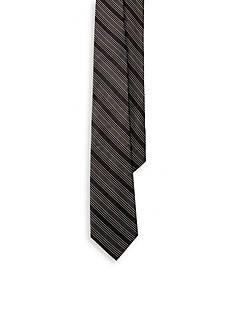 Lauren Ralph Lauren Twill and Satin Stripe Tie
