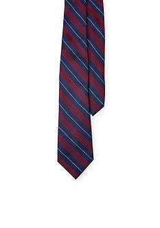 Lauren by Ralph Lauren Silk-Blend Plaid Tie
