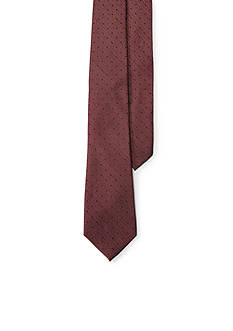 Lauren Ralph Lauren Dotted Stripe Tie