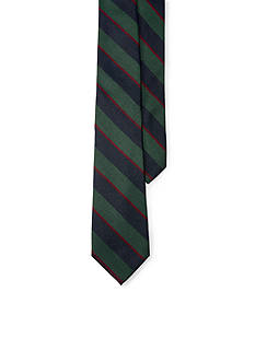 Lauren Ralph Lauren Silk and Wool Stripe Tie
