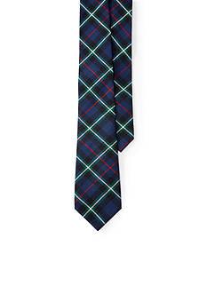Lauren Ralph Lauren Tartan Cotton Tie