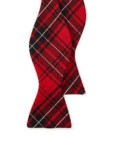 Lauren Ralph Lauren Self-Tie Plaid Bow Tie
