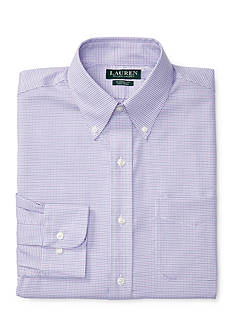 Lauren Ralph Lauren Classic-Fit Checked Twill Dress Shirt