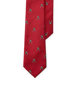 Lauren Ralph Lauren Hockey-Print Silk Tie