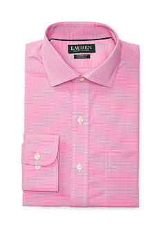 Lauren Ralph Lauren Classic-Fit Gingham Estate Dress Shirt
