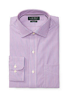 Lauren Ralph Lauren Classic-Fit Striped Estate Dress Shirt
