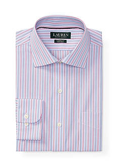 Lauren Ralph Lauren Classic-Fit Multi-Striped Warren Dress Shirt