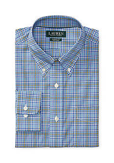 Lauren Ralph Lauren Classic-Fit Plaid Poplin Dress Shirt