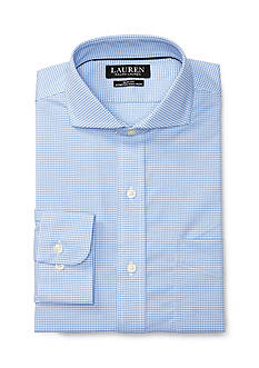 Lauren Ralph Lauren Slim-Fit Gingham Dress Shirt