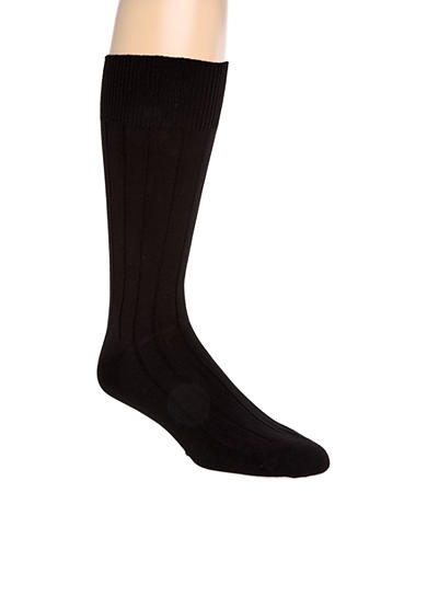 Saddlebred® Ribbed Modal Dress Socks - Single Pair