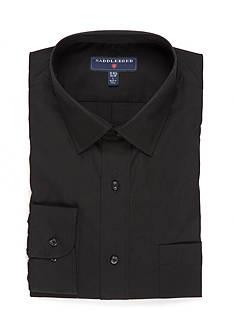 Saddlebred Long Sleeve Easy Care Stretch Collar Dress Shirt