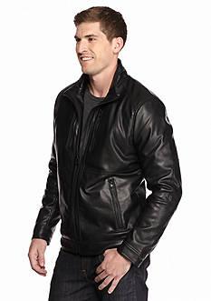 MICHAEL Michael Kors Faux Leather Coat