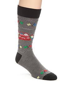 Legale Racing Santa Crew Socks - Single Pair