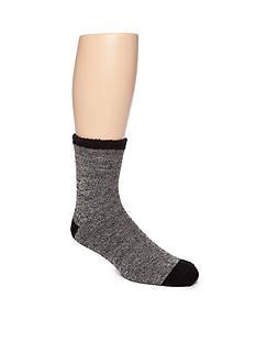 Legale Duo-Layer Slipper Crew Socks - Single Pair
