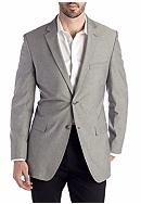 Saddlebred® Classic-Fit Gray Chambray Sport