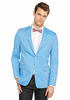 Saddlebred® New Bright Blue Chambray Sport Coat