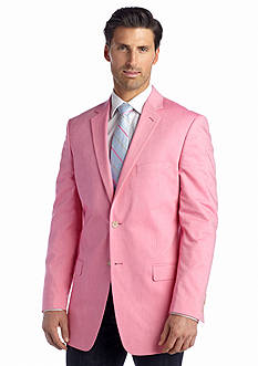 Saddlebred® Classic-Fit Bright Pink Chambray Sport Coat