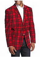 Saddlebred® Classic-Fit Red Plaid Corduroy