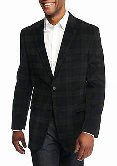 Saddlebred Classic-Fit Black Watch Corduroy Sport Coat