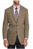 Saddlebred® Classic-Fit Brown Donegal Sport