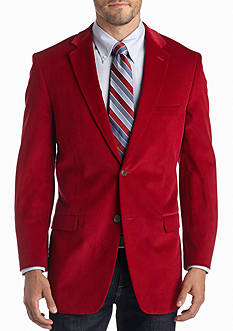 Saddlebred Big & Tall Red Corduroy Sport Coat