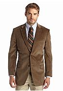 Saddlebred® Brown Corduroy Sport Coat