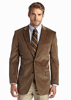 Saddlebred Brown Corduroy Sport Coat