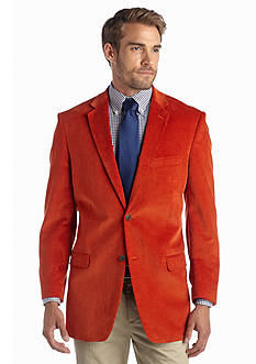 Saddlebred Orange Corduroy Sport Coat