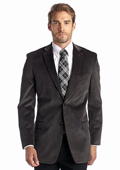 saddlebred big tall classic fit gray corduroy sport coat belk. Black Bedroom Furniture Sets. Home Design Ideas